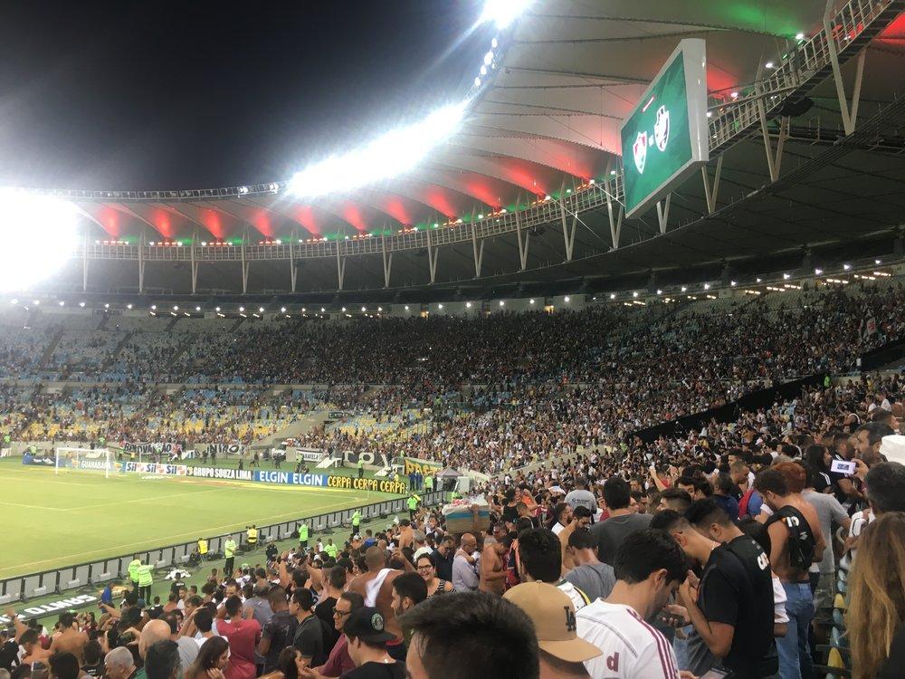 Vasco da Gama 3, Fluminense 2.