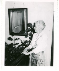 Edith in 1955 (The West End Museum)