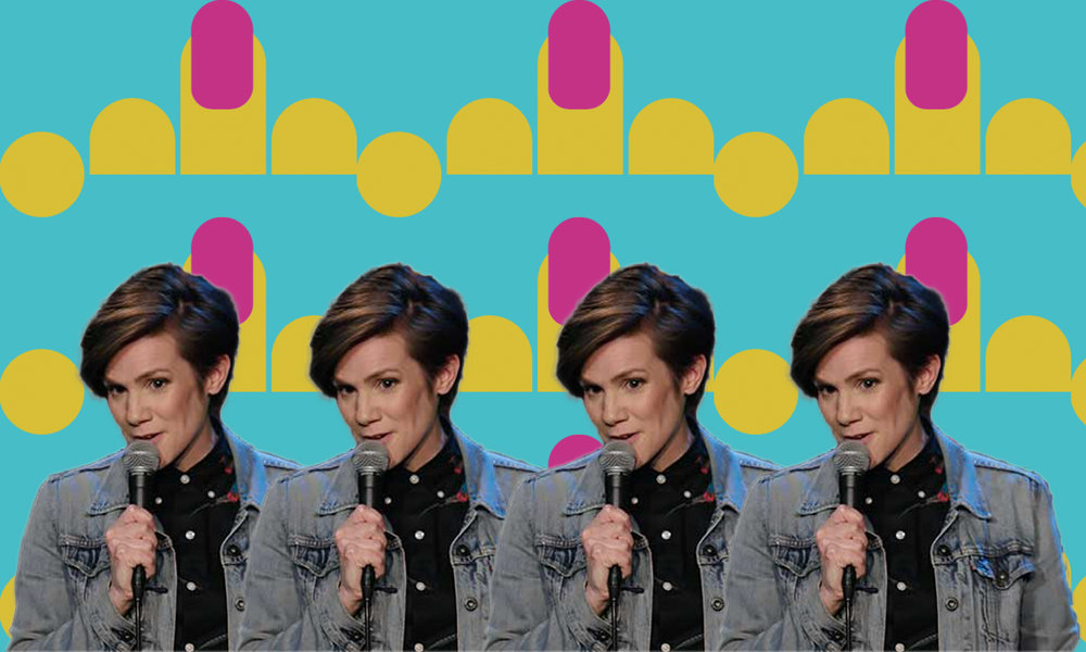 """I thought about calling it 'Survivor Jokes,' but it just didn't have the same ring."" - comic Cameron Esposito, on her one-hour special 'Rape Jokes.'"