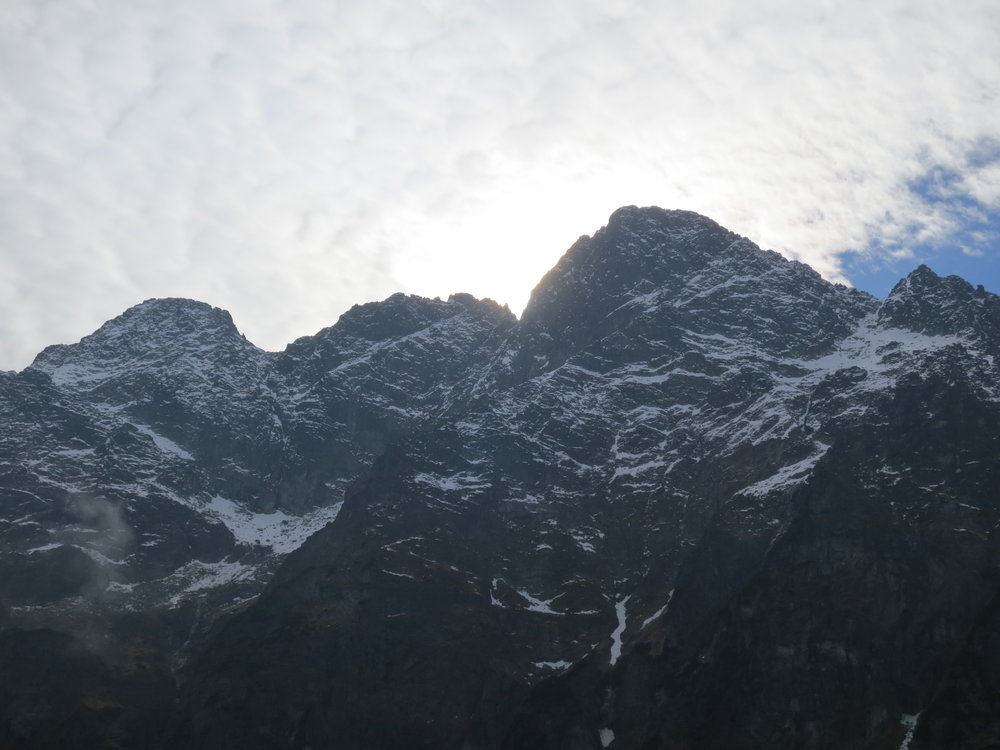 Mountain Peaks in the Tatra Mountains.