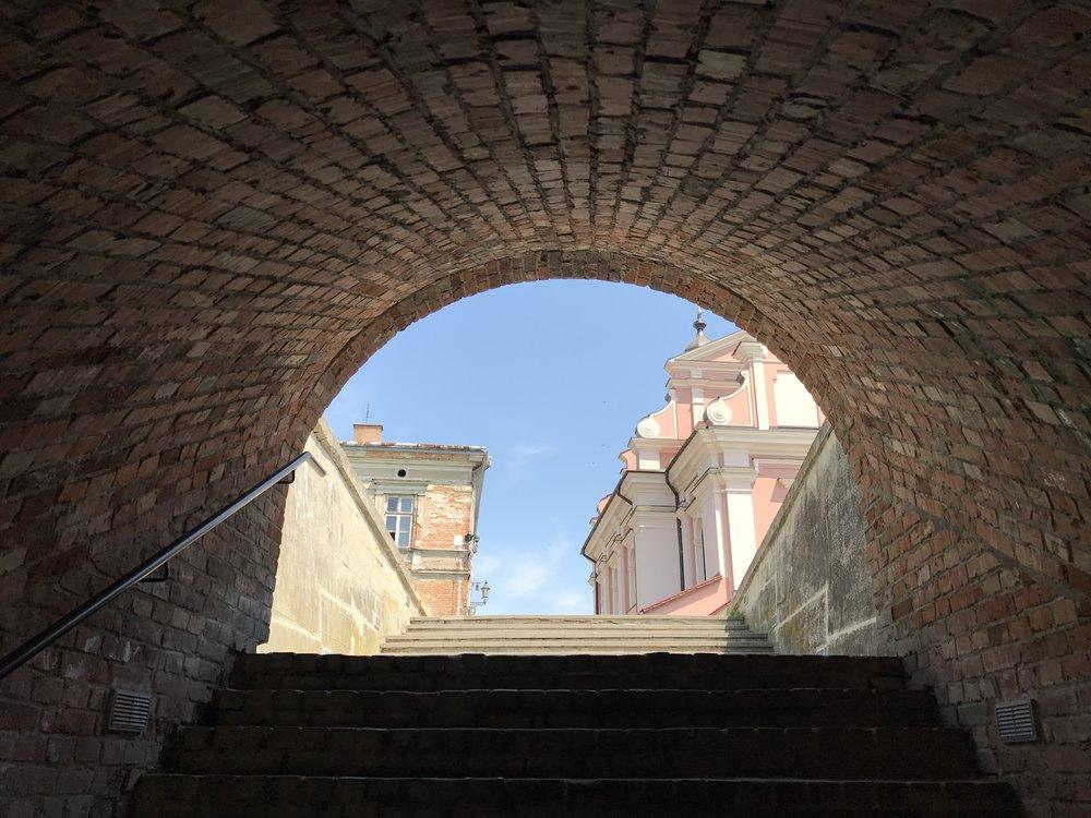 The Water Gate in Zamość, Poland
