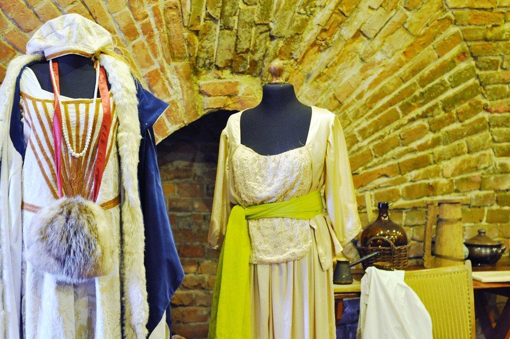 Historical Costume Display in Zamość, Poland