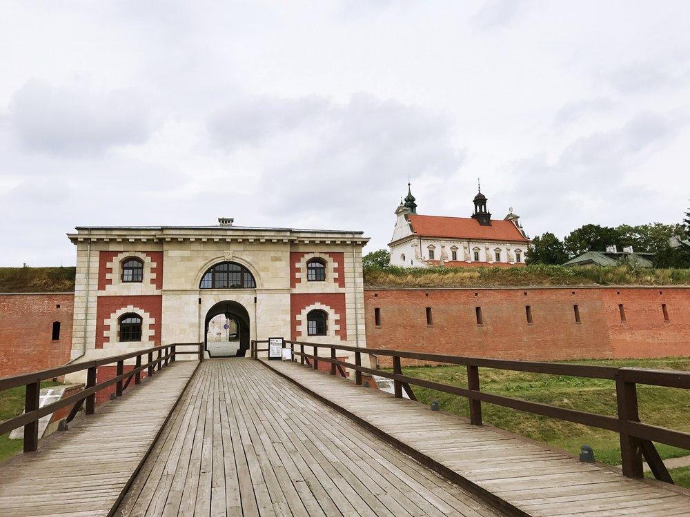 Szczebrzeszyn Gate (or Florian Gate) in Zamość, Poland