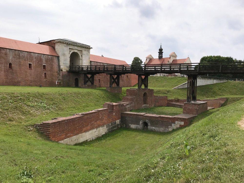 New Lublin Gate in Zamość, Poland