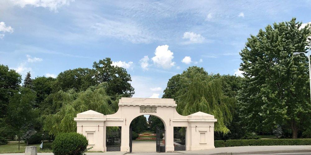 Park Miejski in Zamość, Poland