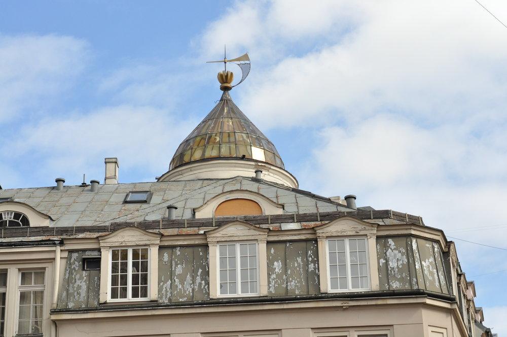 Rooftops in Riga, Latvia