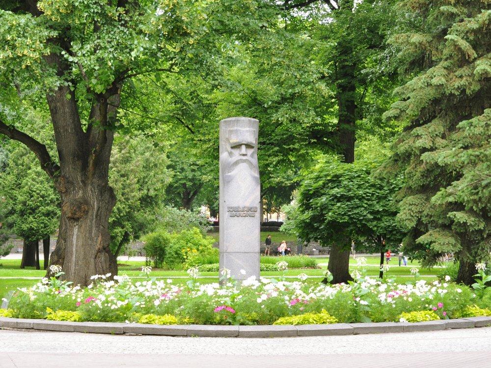 Statue in Riga, Latvia
