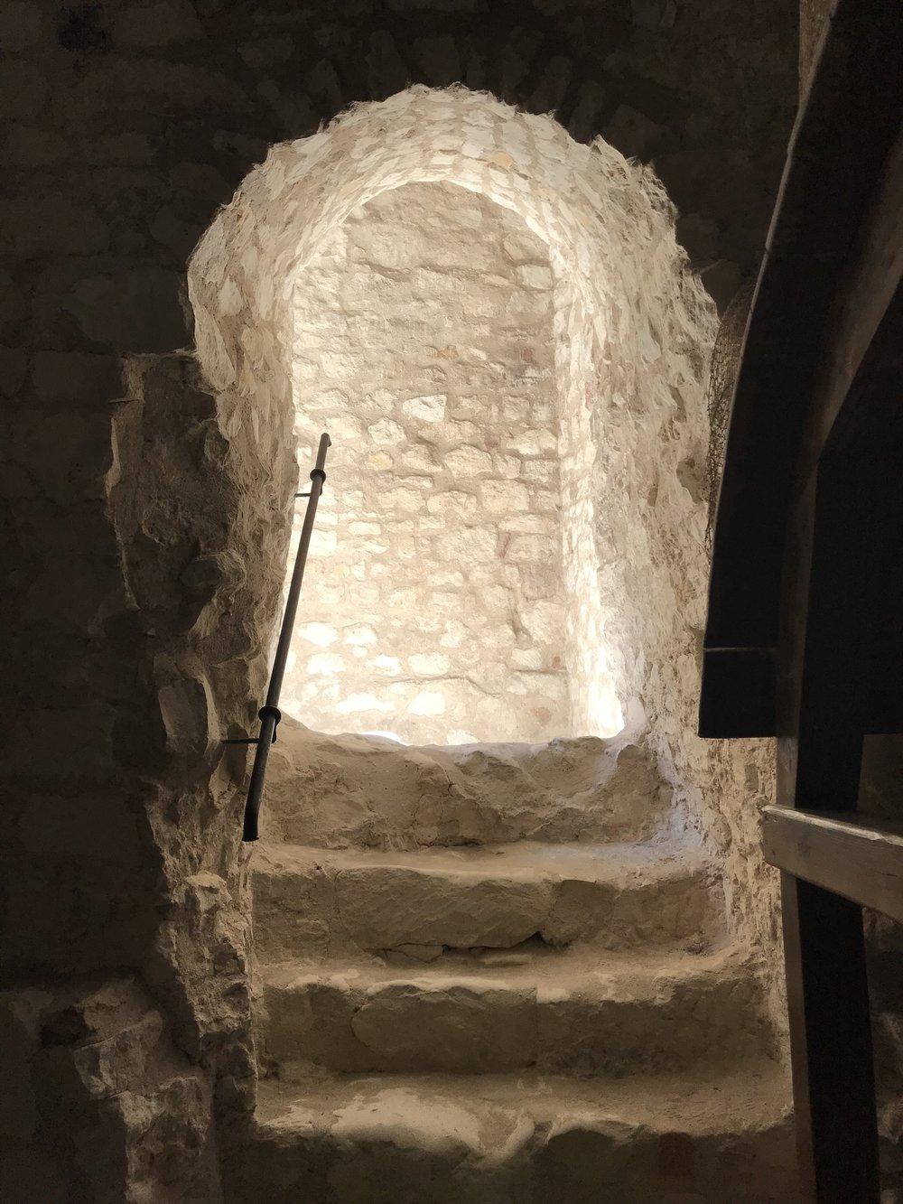 Kazimierz Dolny Castle Steps