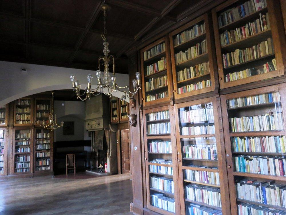Czocha Castle Library; Stankowice-Sucha, Poland