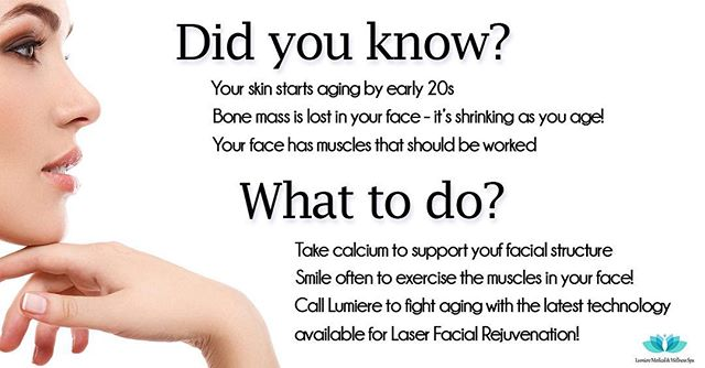 Did you know? Call Lumiere of Orlando for all of your aesthetic needs! Se habla espanol! #lumiereoforlando #medicalspa