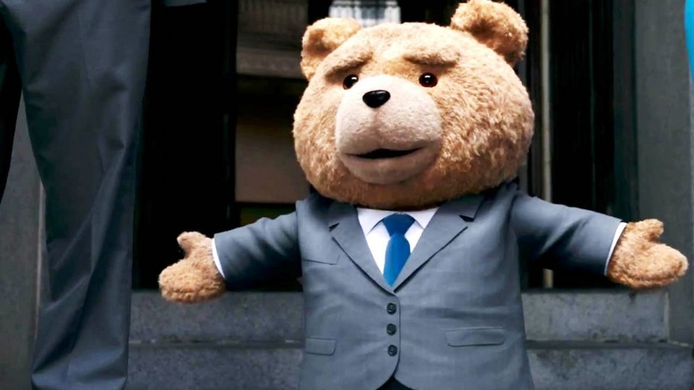 Ted Ted is a 2012 American comedy film directed by Seth MacFarlane in his feature film directorial debut. The screenplay by MacFarlane, Alec Sulkin, and Wellesley Wild is from MacFarlane's story. The film stars MacFarlane, Mark Wahlberg, Mila Kunis, and with Joel McHale and Giovanni Ribisi in supporting roles, with MacFarlane providing the voice of the title character.
