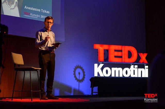 """Αναστάσιος Τζήκας : """"Να κάνουμε την Ελλάδα την Καλιφόρνια της Ευρώπης, μπορούμε"""" ! Παρακολουθήστε την ομιλία του Προέδρου της ΔΕΘ στο πρωτο TEDxKomotini, στη σελίδα μας στο Facebook και στο κανάλι TEDx Talks στο YouTube! #tedxkomotini #revolutionoflogic #tedxkomotini17 #tedx #tedxtalks #speaker #tedxspeaker #komotini #rodopi #ideas #worthspreading"""