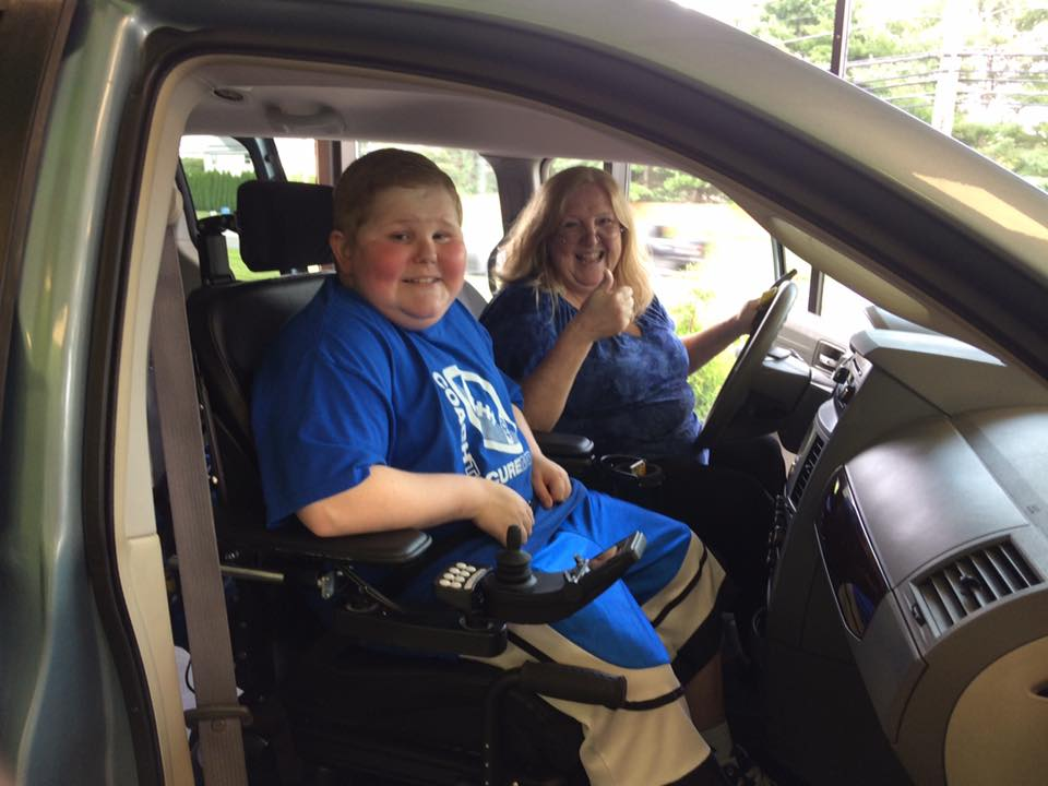 """We have put over 1,000 miles on it already. We are go go go! Ethan is loving every minute of it."" – Sandra, Ethan's mom and Jett Giving Fund recipient"
