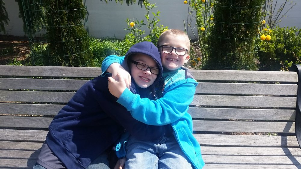 Zach and Tyler, brothers impacted by Duchenne muscular dystrophy
