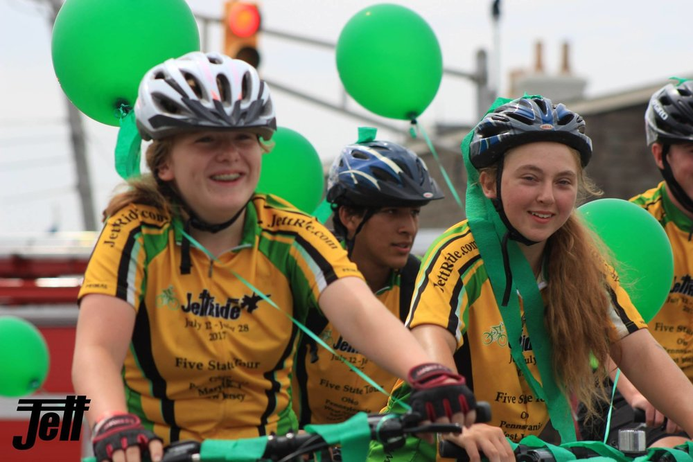 Going The Distance For Duchenne Inspirational Teens To Bicycle From