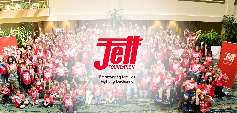 Dan and DMD — Jett Foundation