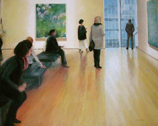 "Gallery 9, Adagio, 30 x 24"" Oil (sold)"