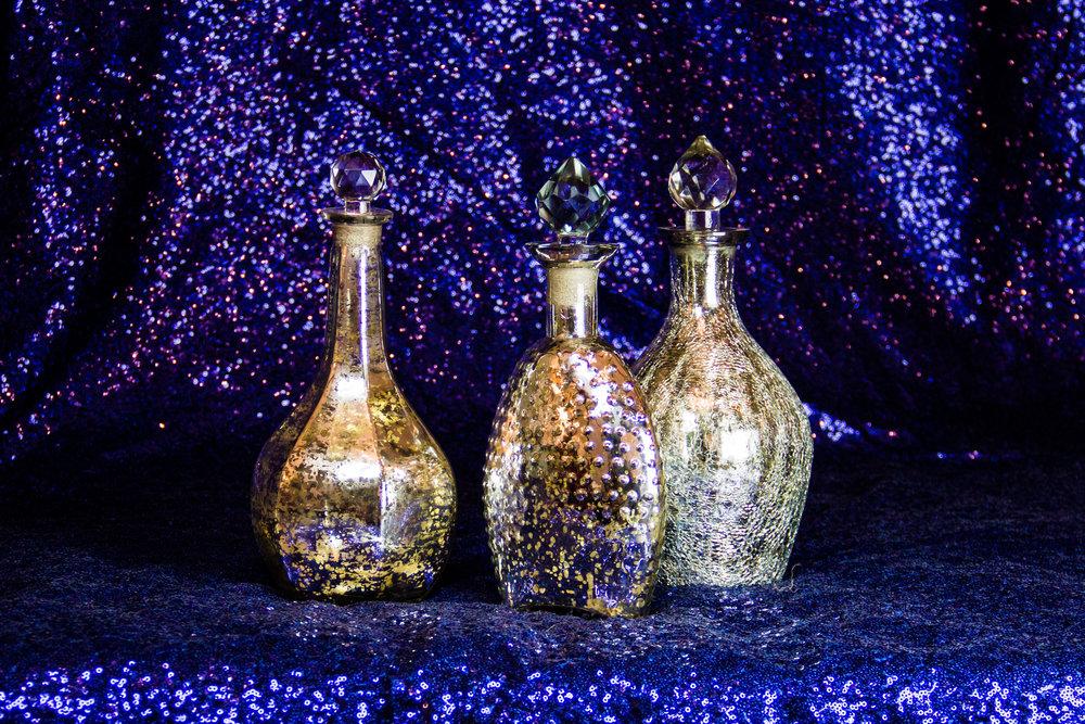Decorative Mercury Vases
