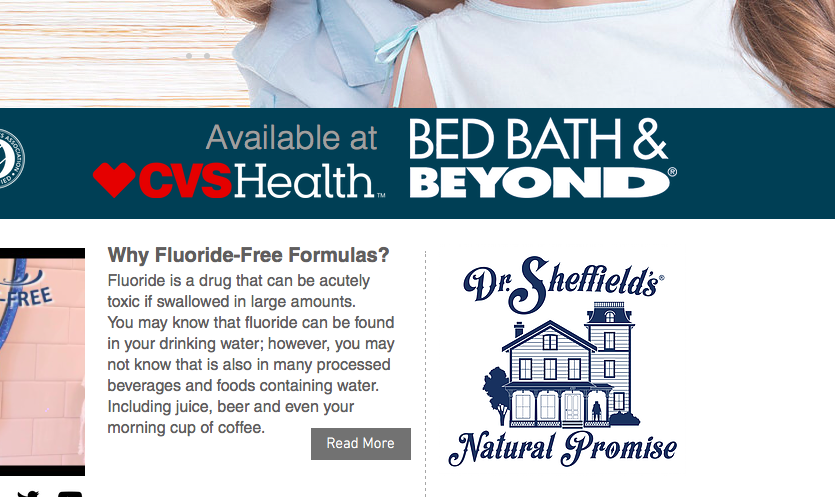 CVS and Bed Bath & Beyond jumped on the fluoride-free bandwagon.