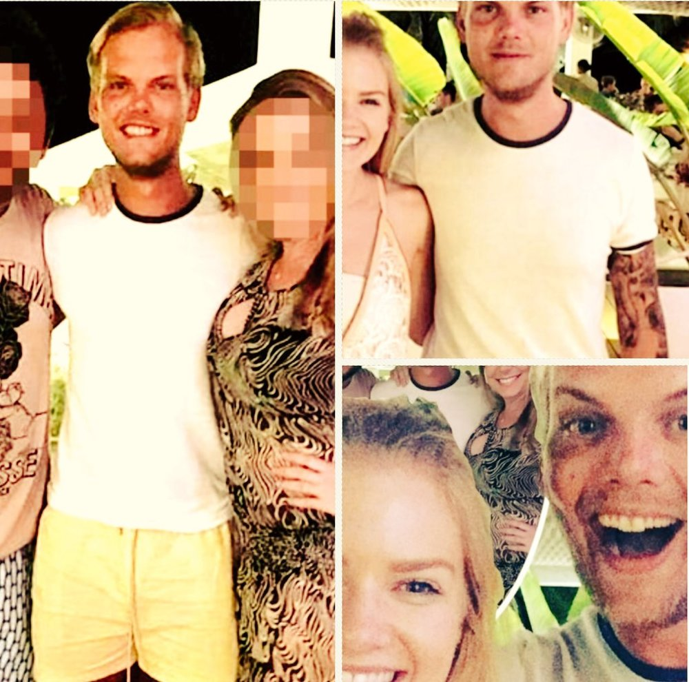 Avicii in Oman prior to his death.