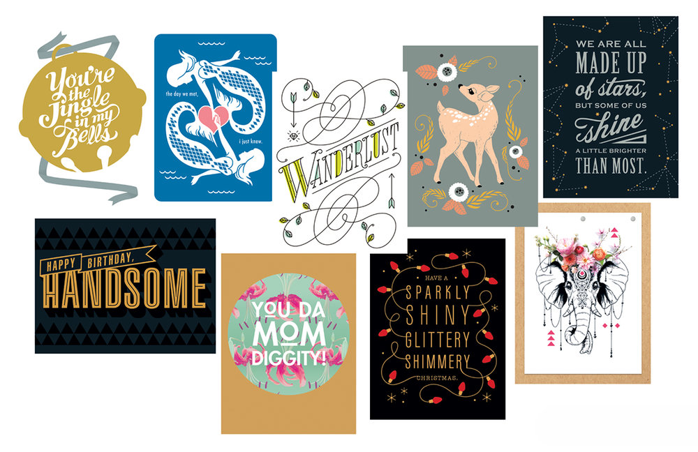 American Greetings work by CCAD Alumni