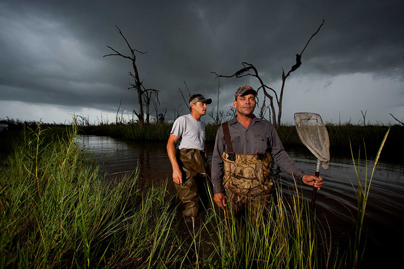 CCAD alum Zach Dilgard's Swamp People Tommy and Joe