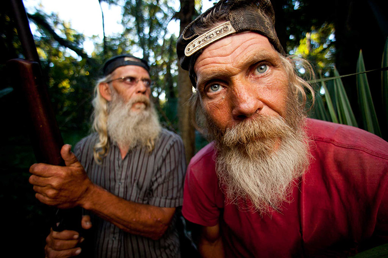 CCAD alum Zach Dilgard's Swamp People Glen and Mitchell