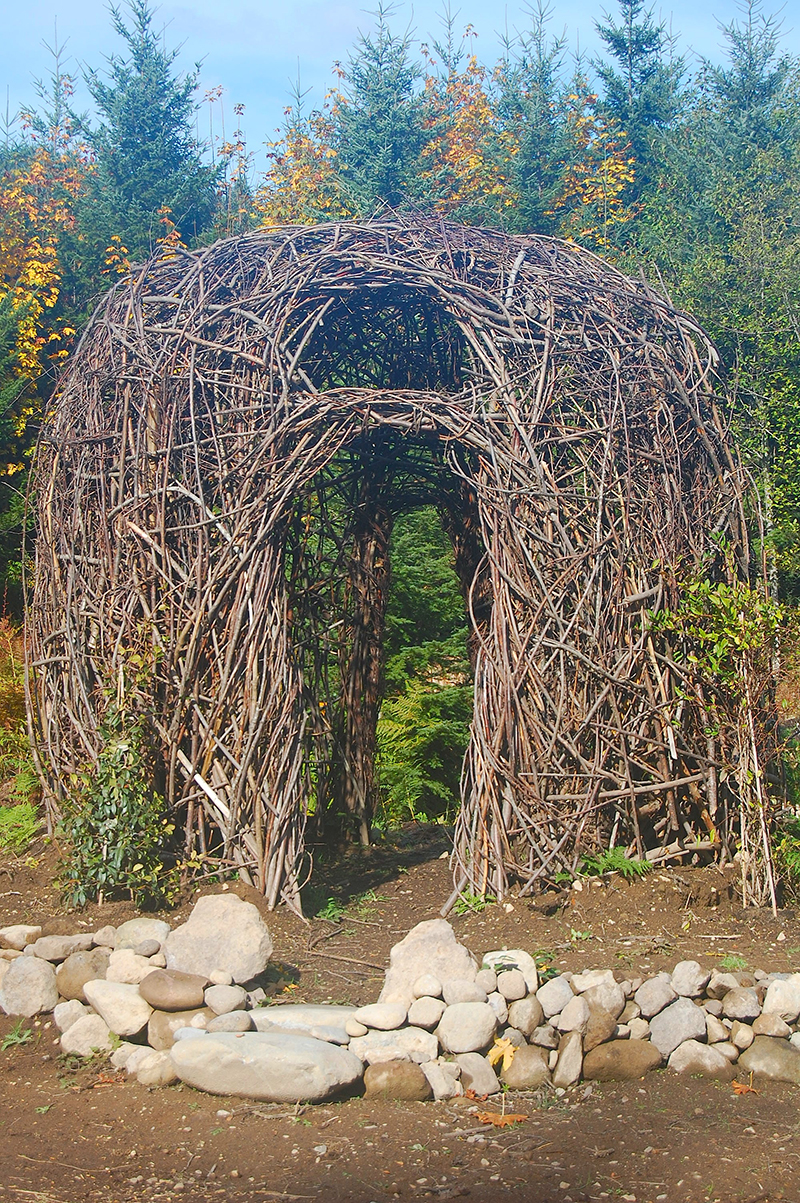 Birds Nest Gazebo  by CCAD alum Matthew Donaldson