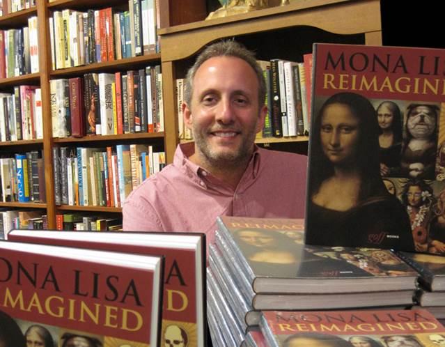 Erik at book signing in Chicago, 2016