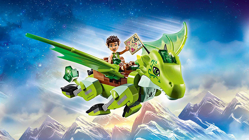 Wes Talbott's work for LEGO Group includes projects for its LEGO Elves line.