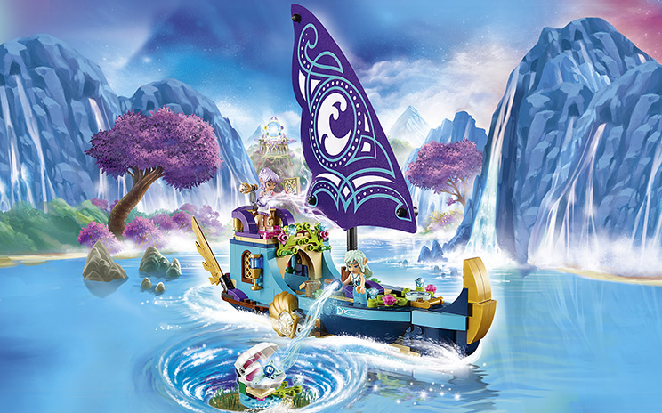 LEGO Elves work by Wes Talbott.