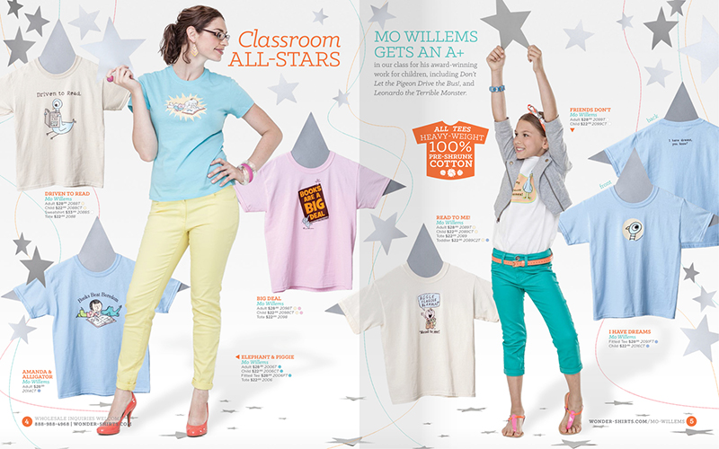 Wonder-Shirts' 2014 Catalog by Lillie Talbott