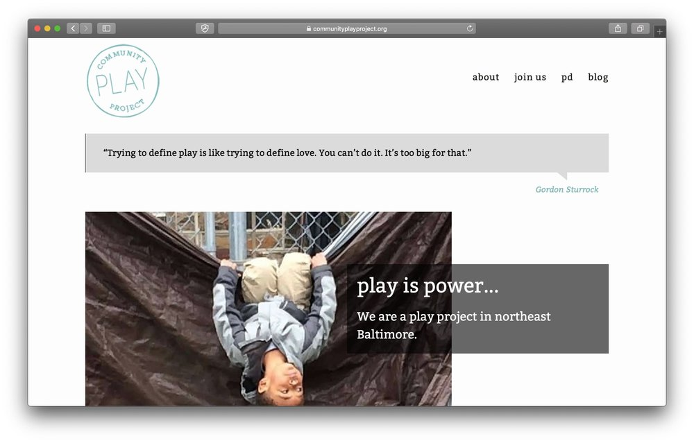 Community Play Project