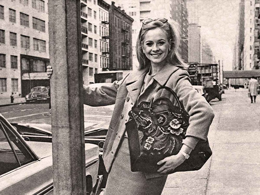Ulrika Bolinder's mother Monica Ekman in New York in the 60's.