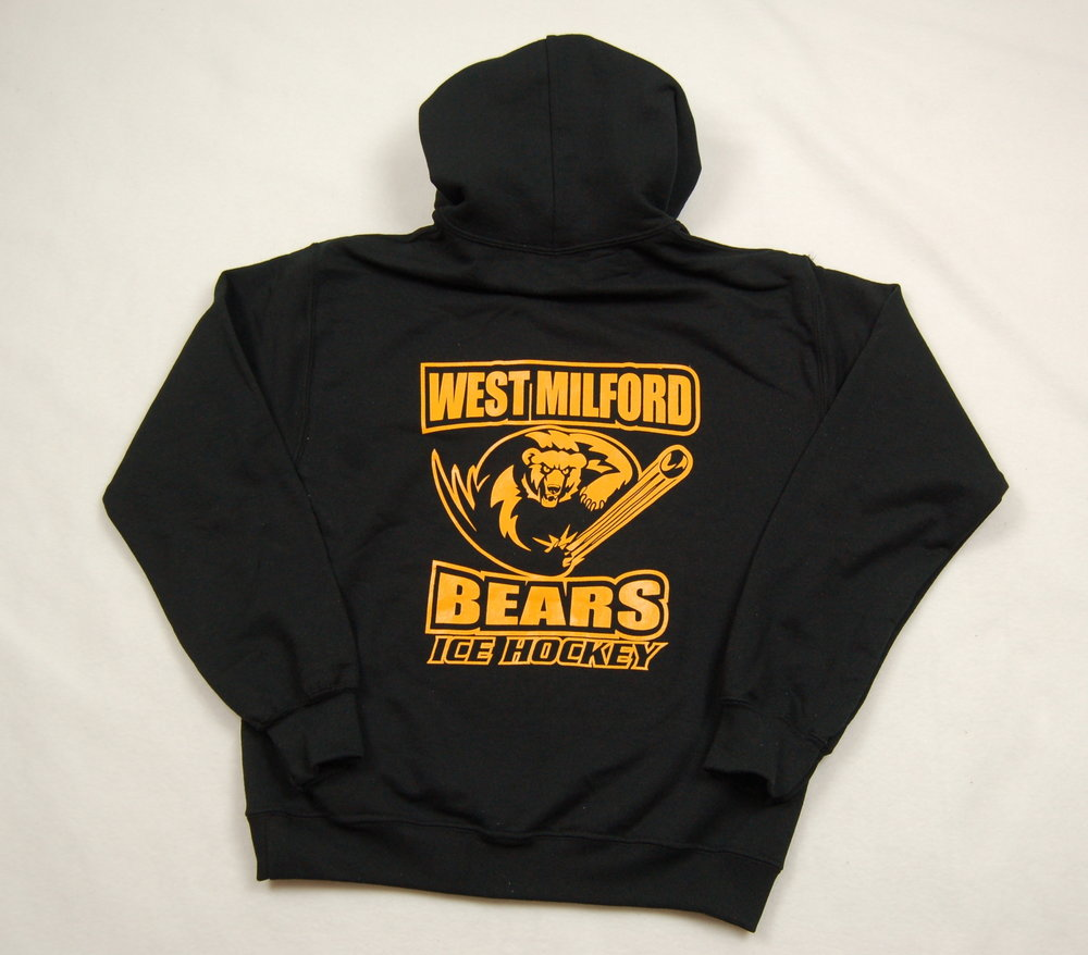 West Milford Bears Ice Hockey hoodie.