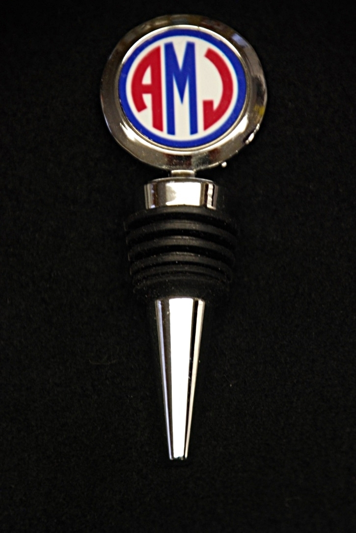 Monogrammed Bottle Stopper