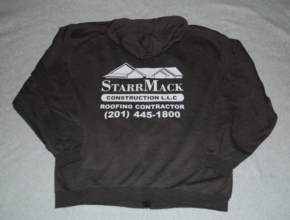 StarrMack Construction hoodie
