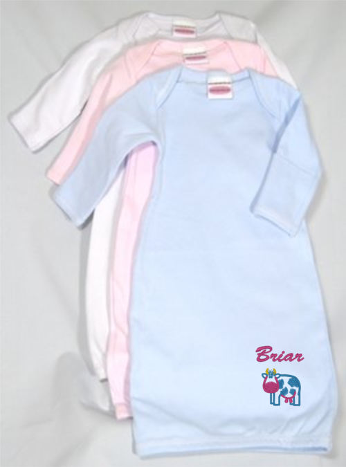Infant Layette Gown (Personalized) — ProStitch Embroidery