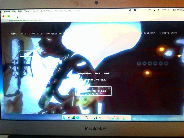 New website up y'all - if u haven't then you should! Gordongoldsmithmusic.com #vtmusic #indie #nerd