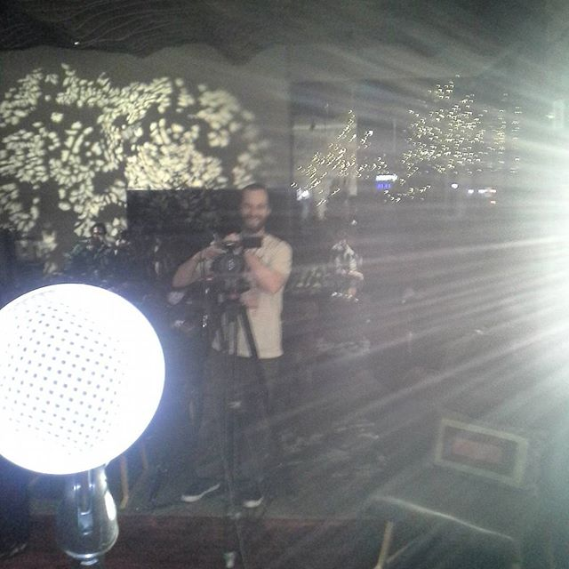 My side of the video shoot last weekend. @grimm_life