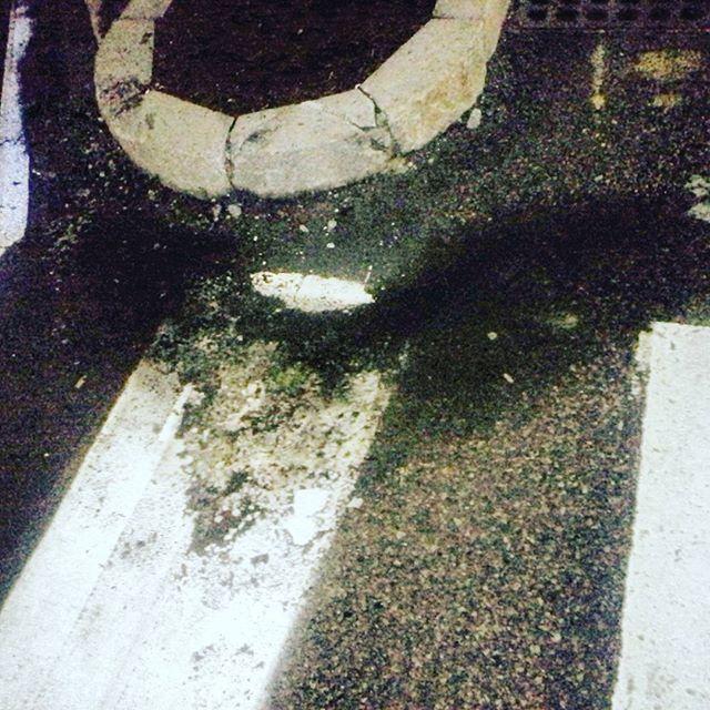 Heart shaped puddle, last night of Waking Windows, latergram. #Wakingwindows #heartseverywhere