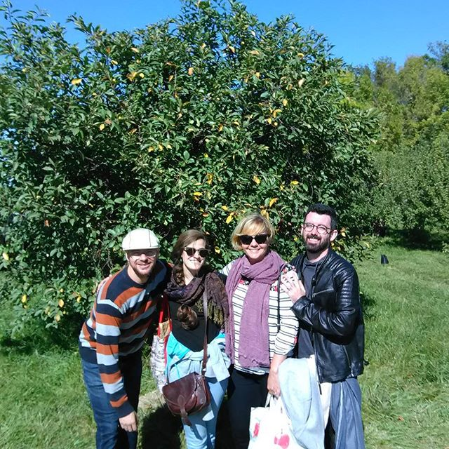 Apple Picking with my buds!