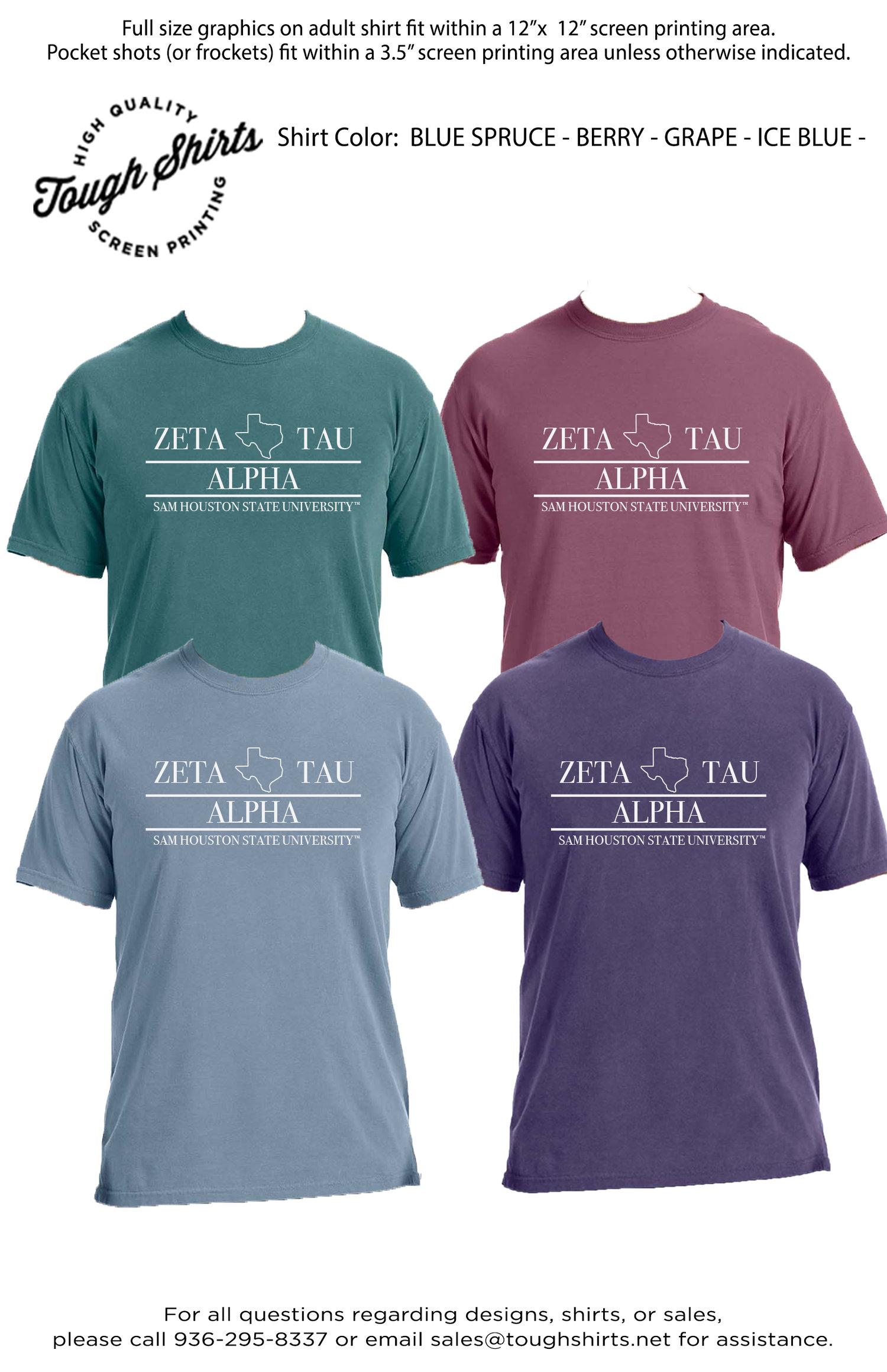 Zeta Tau Alpha Shirt — Tough Shirts
