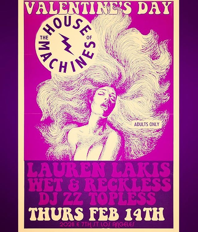 Need Valentine's plans? Come and watch Austin gently finger some synth bass with @laurenlakis @houseofmachine this Thursday night 💗