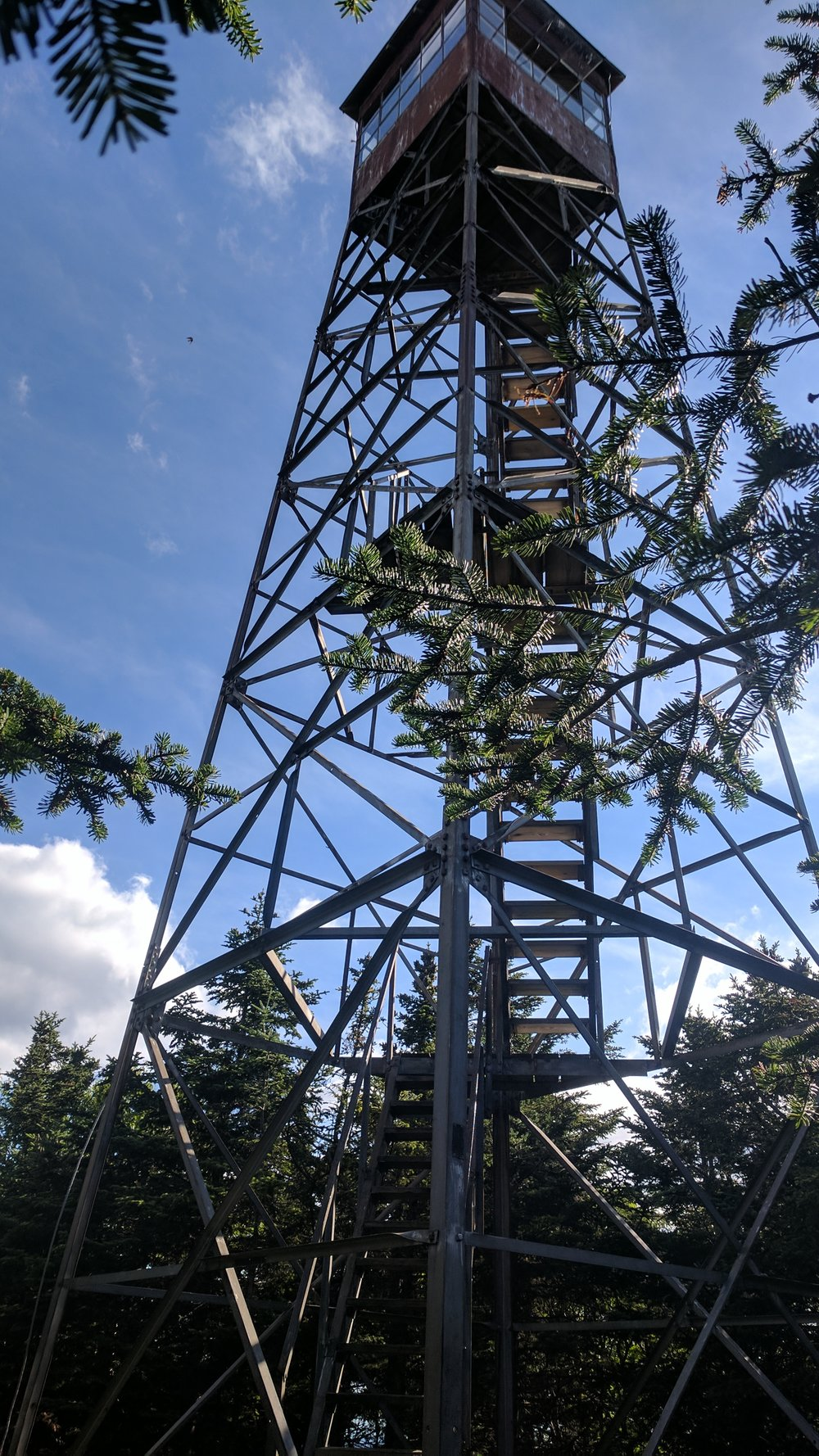 Another fire tower.