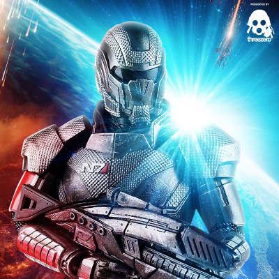 ThreeZero Mass Effect Shepard