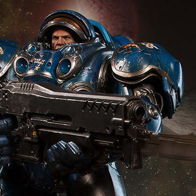 Starcraft Marine Tychus for Sideshow