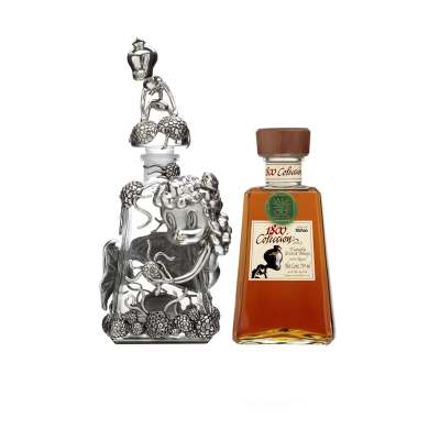 Gary Baseman 1800 Tequila Bottle