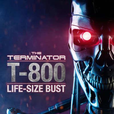 Sideshow Terminator Life-Sized Bust