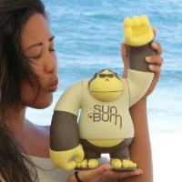 Sun Bum Sonny Mascot